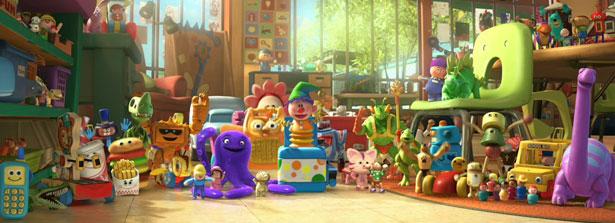 Toy Story 3 Sunnyside : Toy story risas lagrimas y emoción