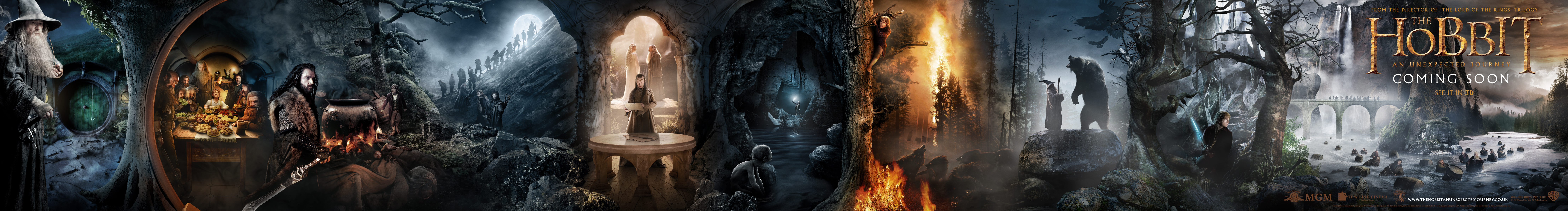 new hobbit banner reveals clues to movie adaptation wired