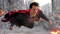 "The man of steel: Superman ""vuela"" tan bajo"