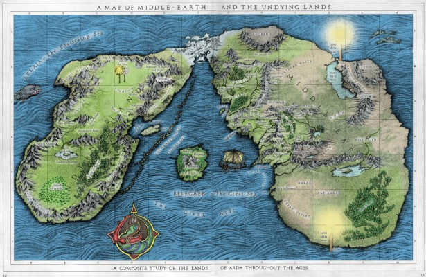 A_Map_of_Middle-earth_and_the_Undying_Lands_color