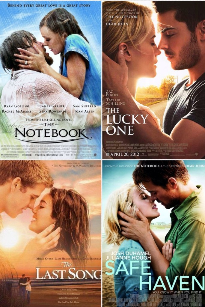 Nicholas Sparks posters