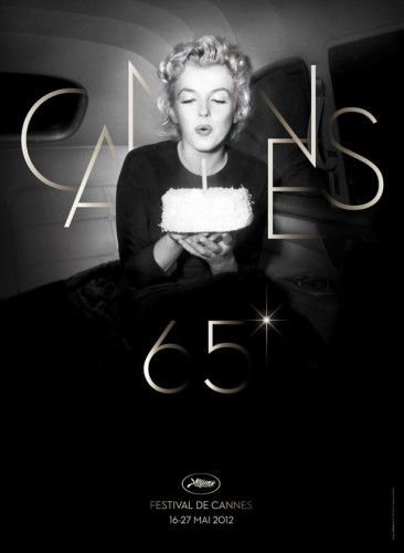 A poster for the Cannes film festival, which marks its 65th anniversary