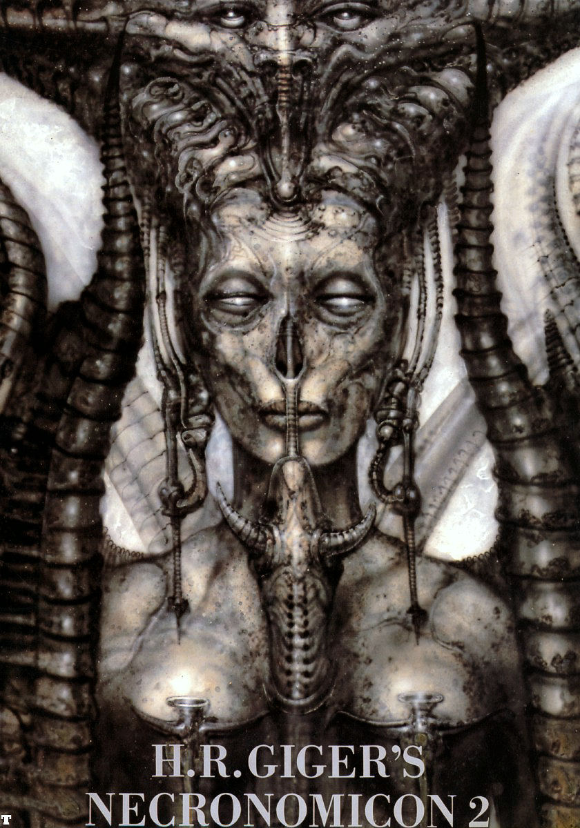 HR Giger's Necronomicon Vol 1 Hardback Clive Barker Morpheus International 1991