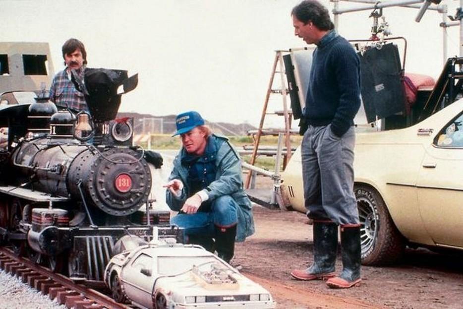 El DeLorean era mas chico de lo que parecía