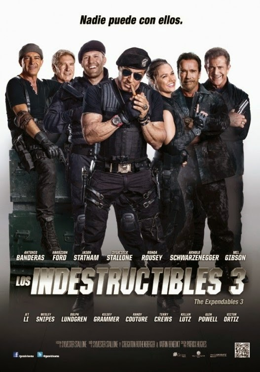 The Expendables 3 Intl Poster