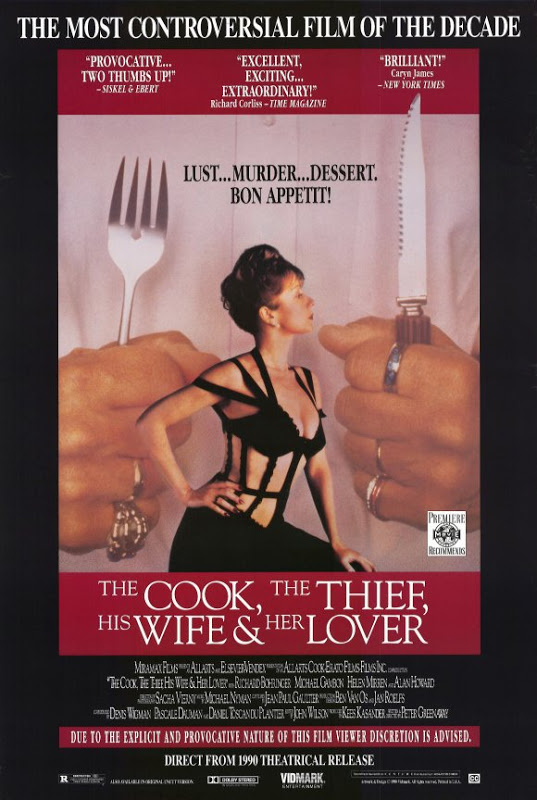 The Cook, the Thief, His Wife & Her Lover (1990)