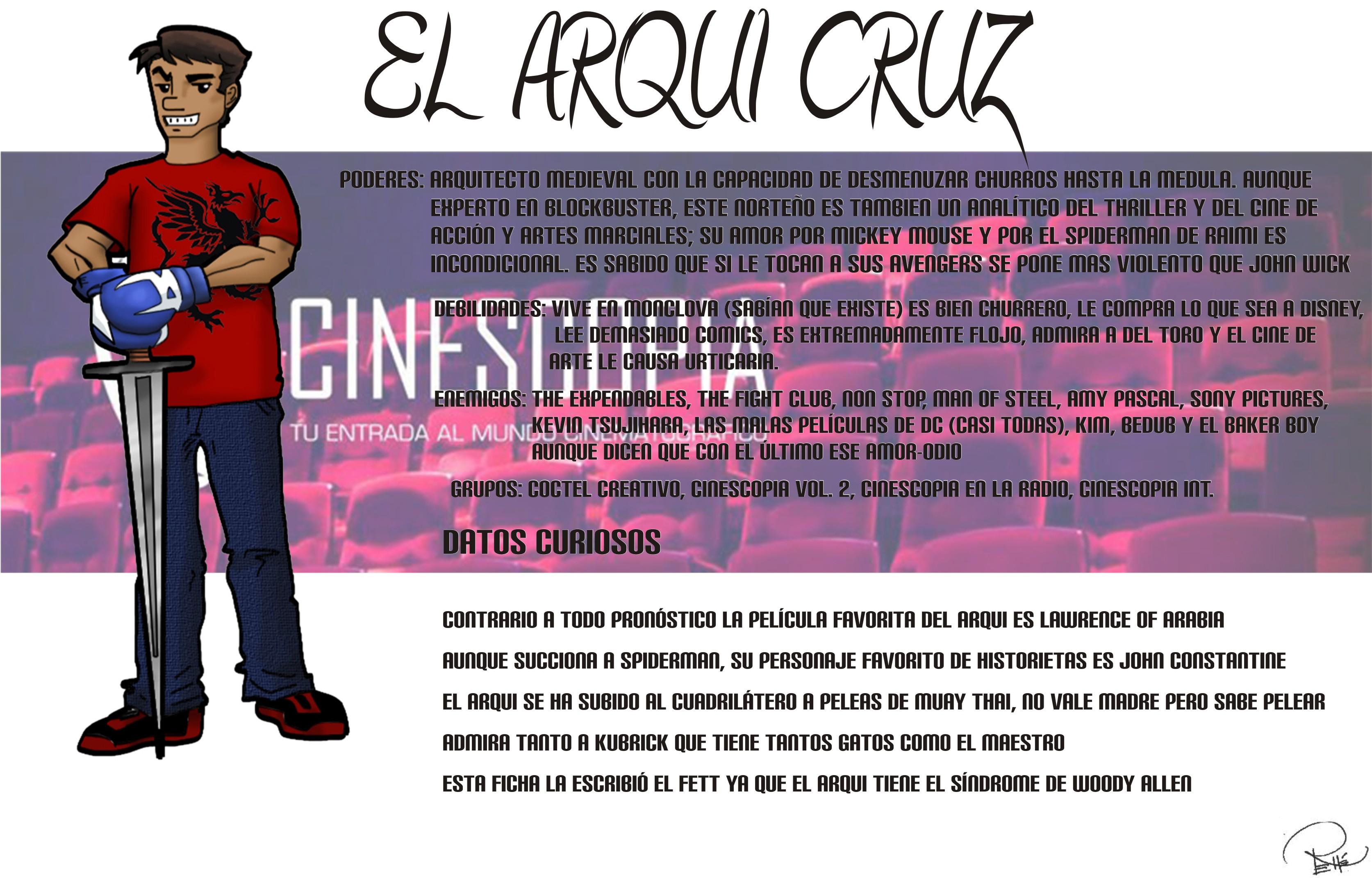 Ficha completa Arqui