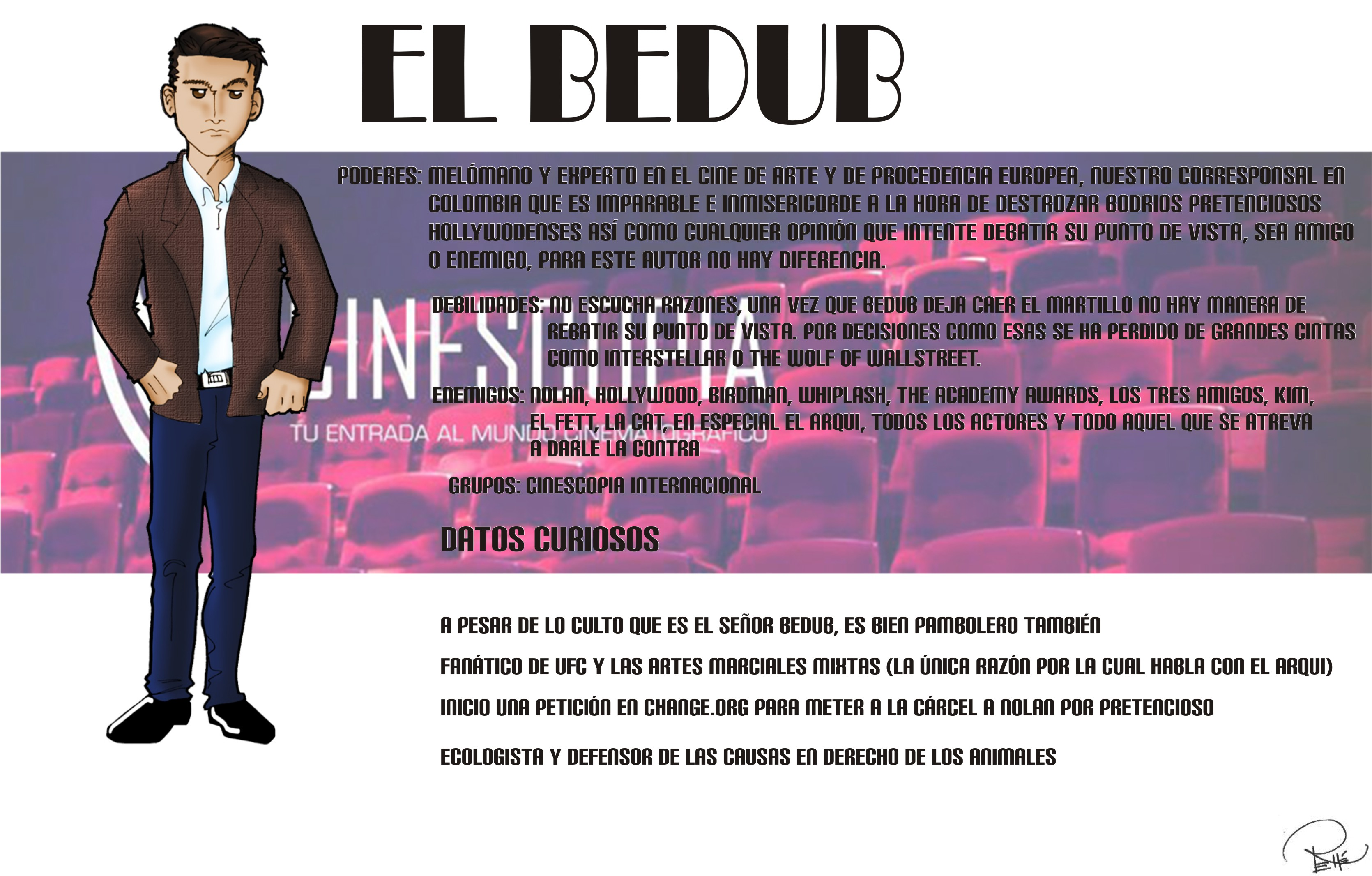 Ficha completa Bedub