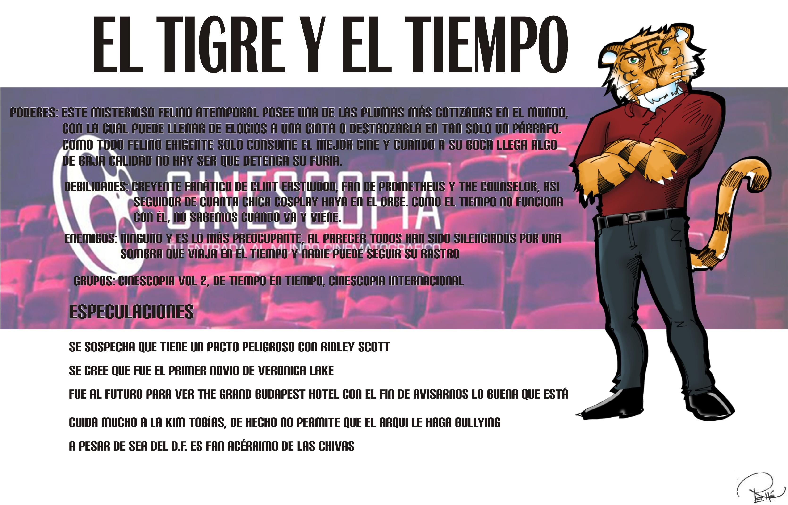 Ficha completa Tigre