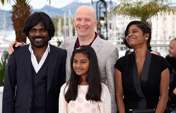 """Dheepan"" Photocall - The 68th Annual Cannes Film Festival"