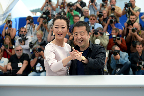 """Shan He Gu Ren"" Photocall - The 68th Annual Cannes Film Festival"