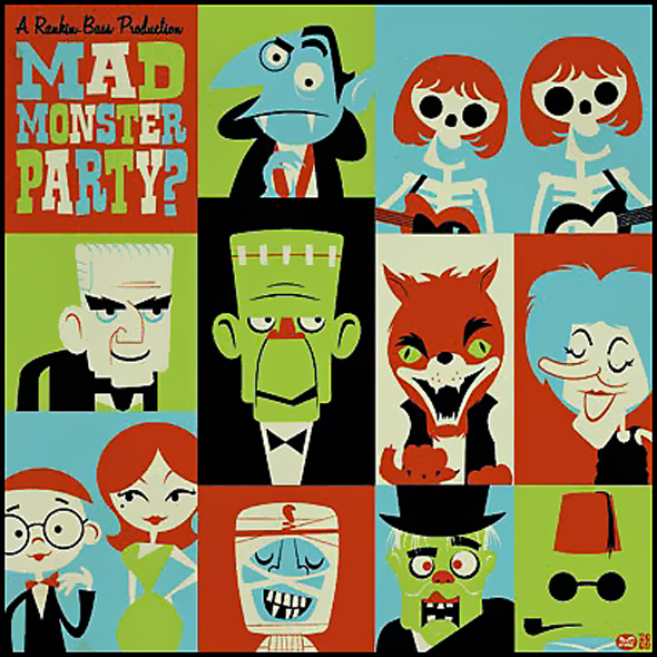 madmonsterparty-cartoon-poster
