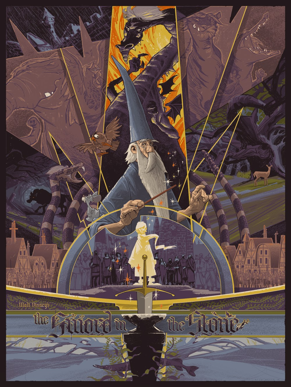 Rich-Kelly-The-Sword-in-the-Stone-Disney-Poster-Mondo