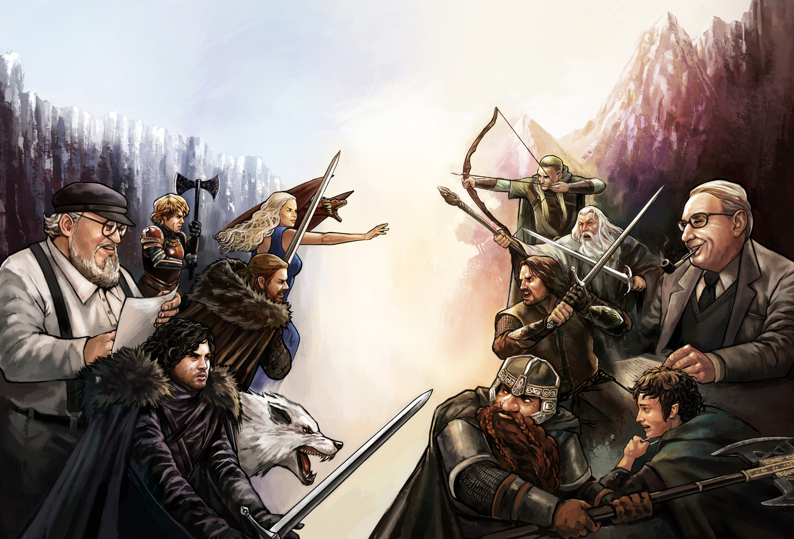 duel_game_of_thrones_x_lord_of_the_rings_by_murilo_araujo-d7gtmxi