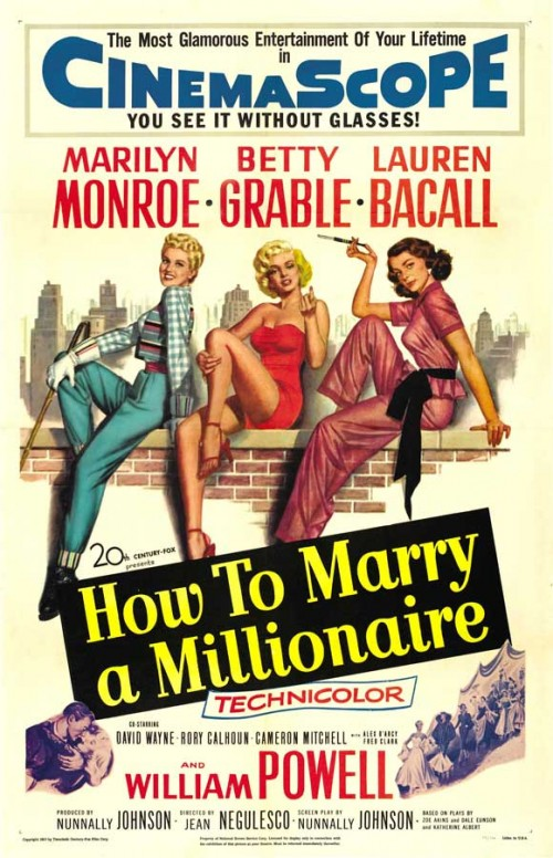 how-to-marry-a-millionaire-movie-poster