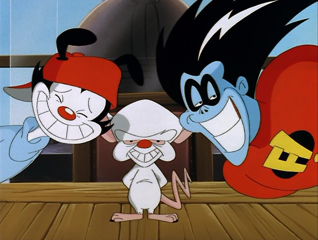 Freakazoid_with_Wakko_and_Brain