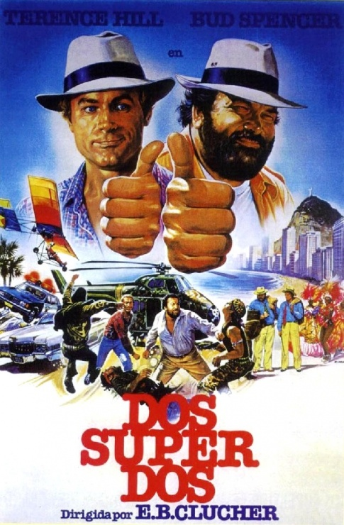 Dos-super-Dos-1984-Bud-Spencer-y-Terence-Hill-poster