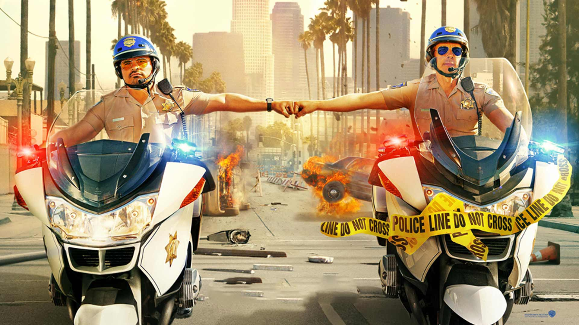 Chips: Patrulla Motorizada Full HD Dual Latino Ingles Subtitulado