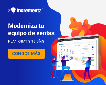 Incrementa CRM - Seguimiento de ventas, cotizaciones y email marketing