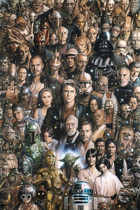 Top 20 Personajes De Star Wars Parte 1 Cinescopia