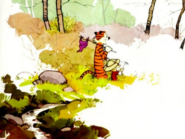 calvin-and-hobbes-in-the-woods