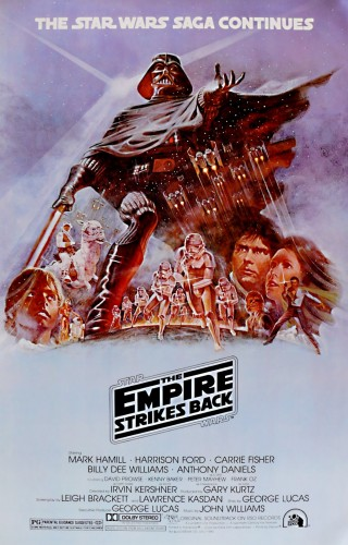Star Wars - The Empire Strikes Back (1980) Style B by Tom Jung