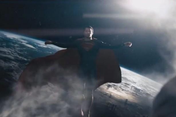 Superman Crucifix