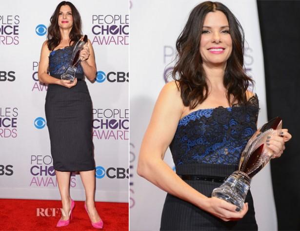 Sandra-Bullock-In-Vera-Wang-2013-People's-Choice-Awards
