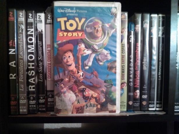 La primera película de colección, ahora ya renovada en Blu-Ray en mi videoteca