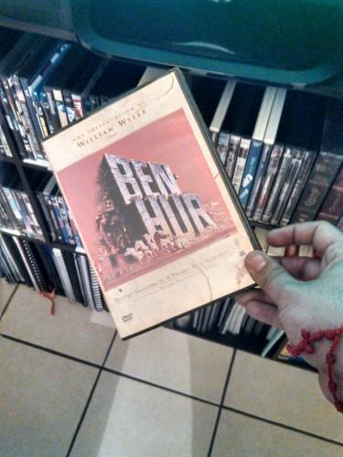 Mi Ben-Hur en DVD, recuerdo de mi tradición familiar