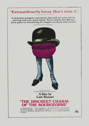 THE DISCREET CHARM OF THE BOURGEOISIE - American Poster