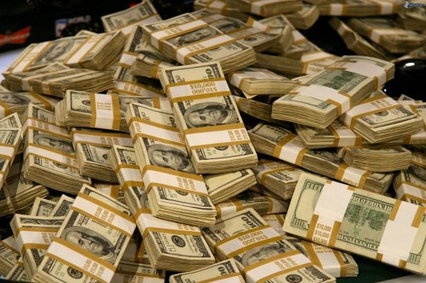 un monton de dinero, dolares 170064
