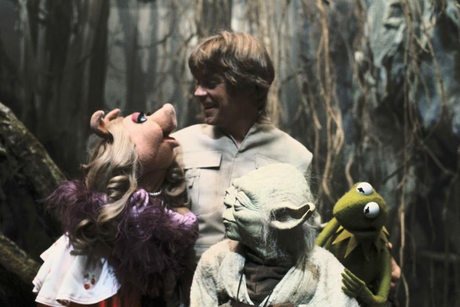 Como que a Yoda no le cayó muy bien la visita en el set