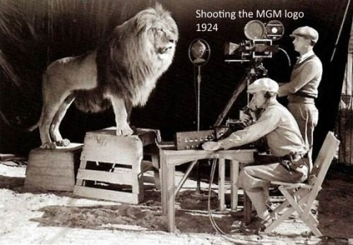 Por si se preguntaban como le hicieron los de MGM para sus efectos especiales