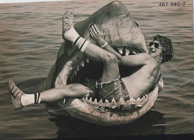 Spielberg conviviendo con sus criaturas