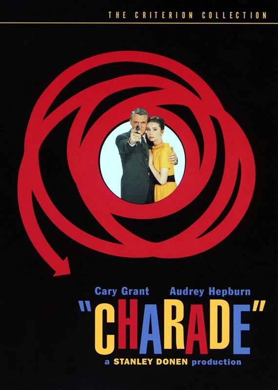 Charade (poster) - Audrey Hepburn