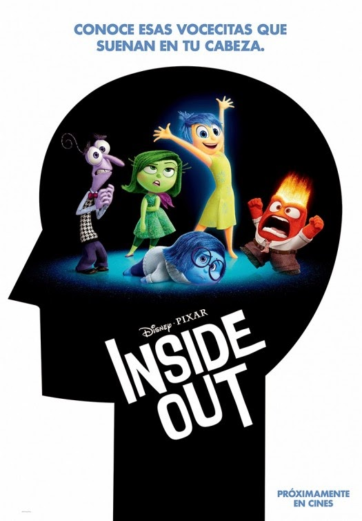 Disney Pixar Inside Out Poster
