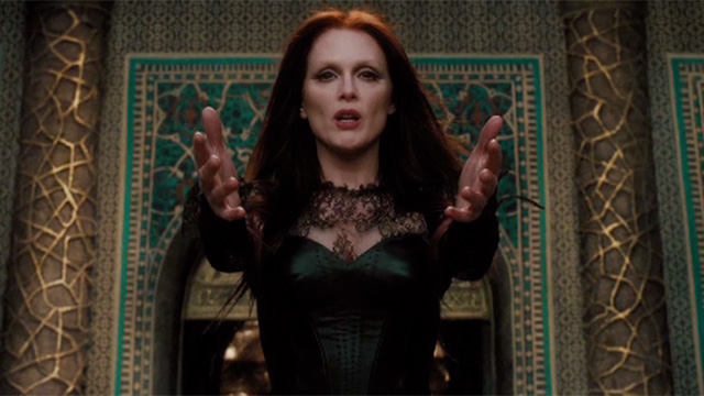 Julianne Moore in a still from Seventh Son