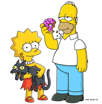 homer-and-lisa