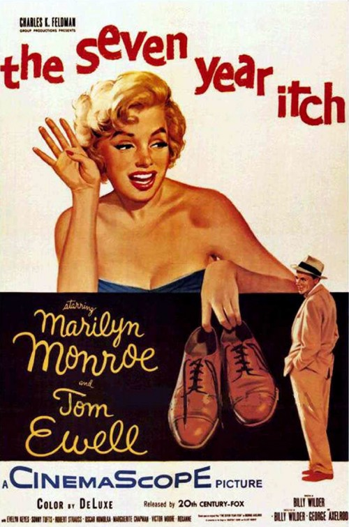 Poster - Seven Year Itch