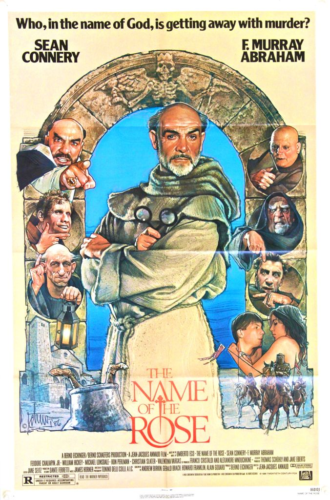 The Name of the Rose One Sheet