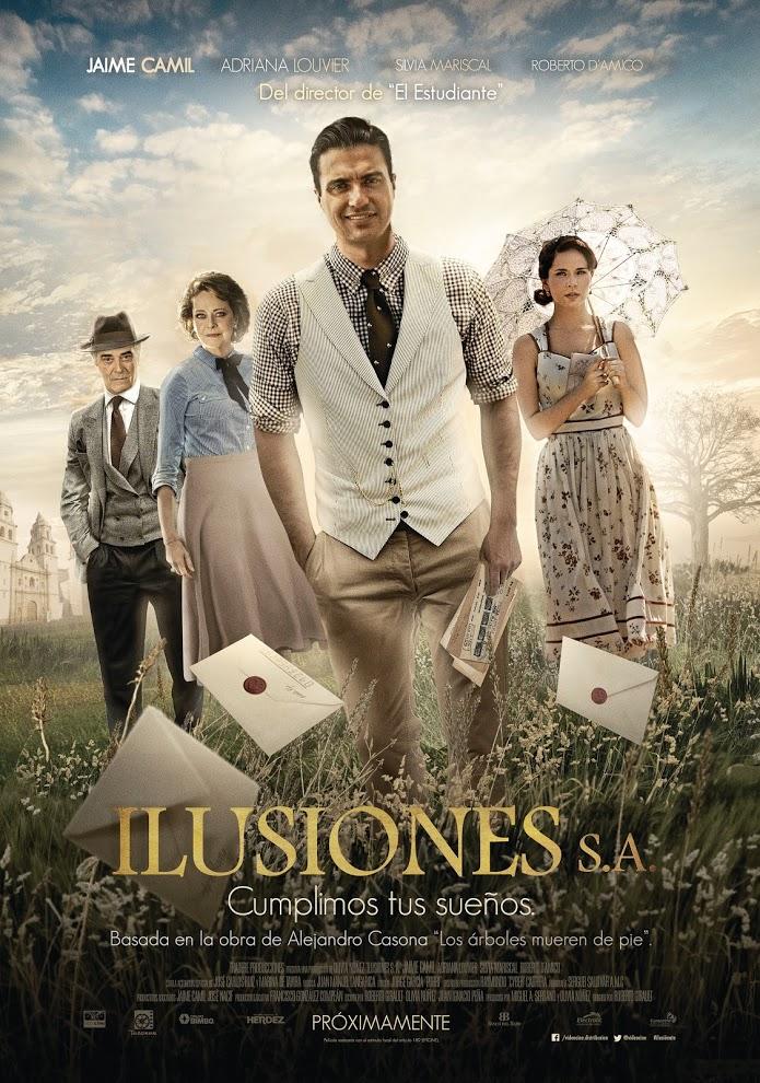 Poster Pelicula Ilusiones SA