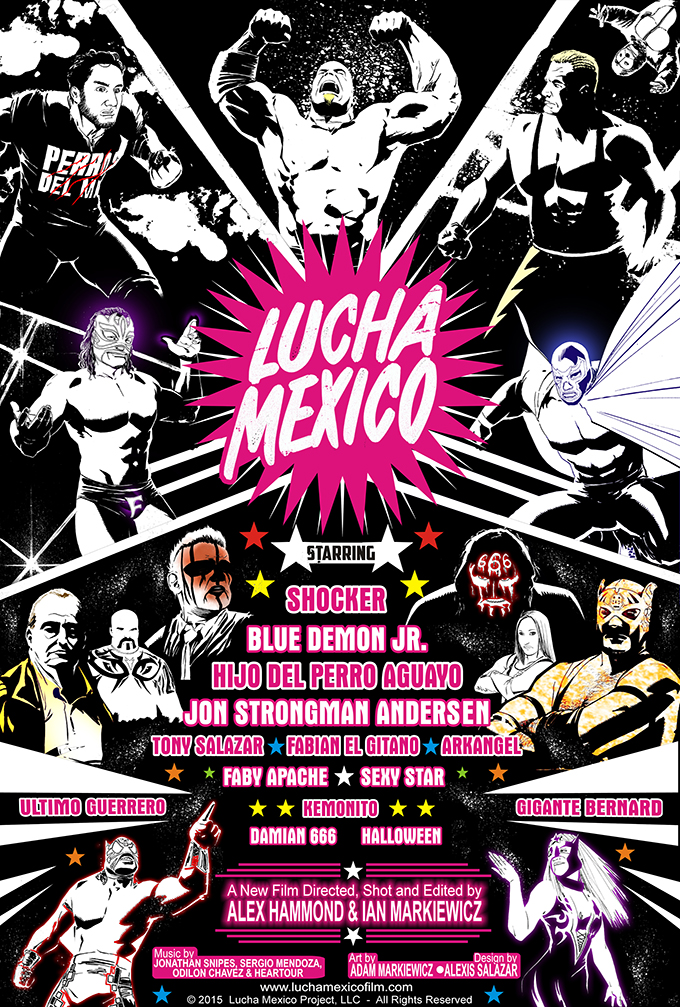 lucha-mexico-poster