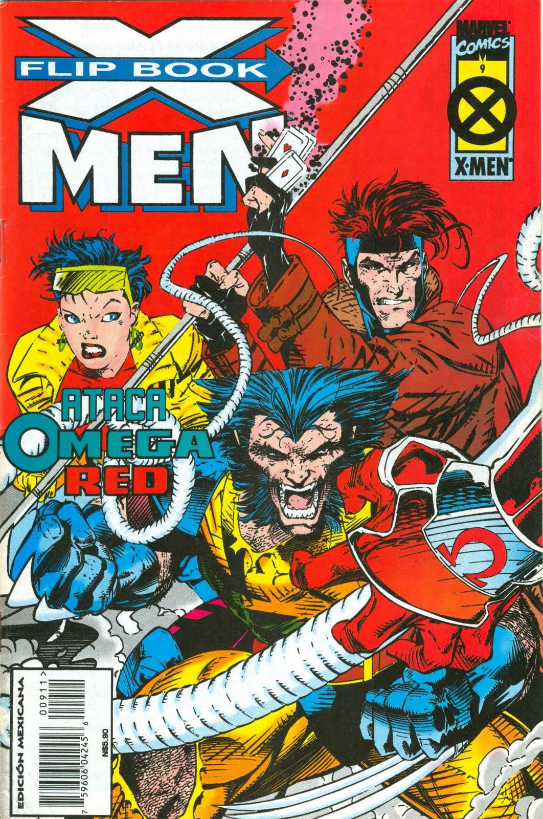 X men Flip Book 9 -portada