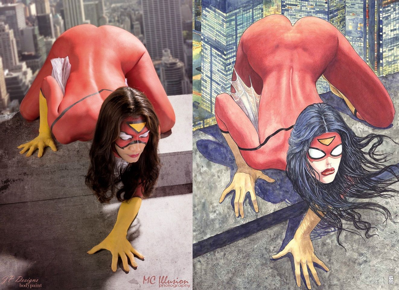 Cosplay-Milo-Manara-Spider-Woman