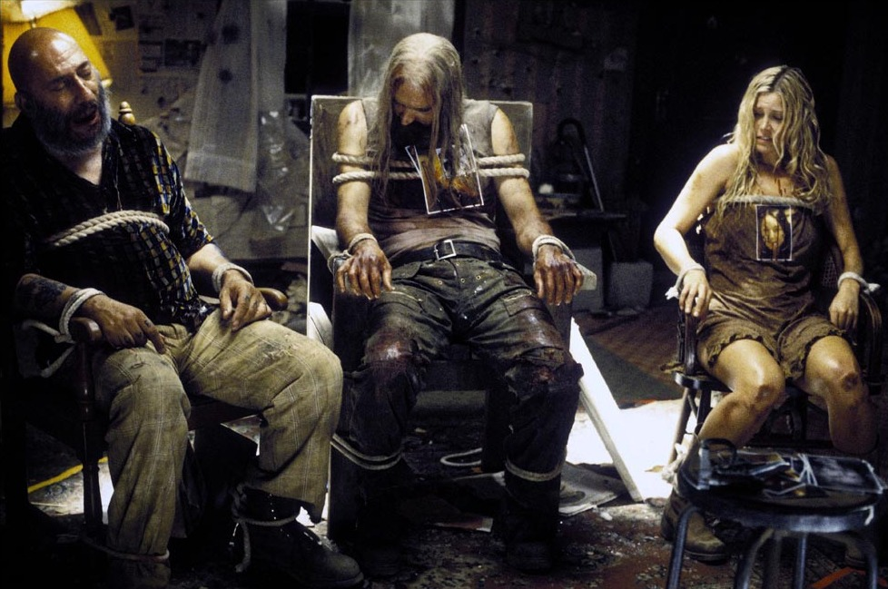 Prod DB © Lions Gate Films / DR THE DEVIL'S REJECTS (THE DEVIL'S REJECTS) de Rob Zombie 2005 USA / ALL avec Sid Haig, Bill Moseley et Sheri Moon horreur, gore, otage, prisonniers, attaches, torture