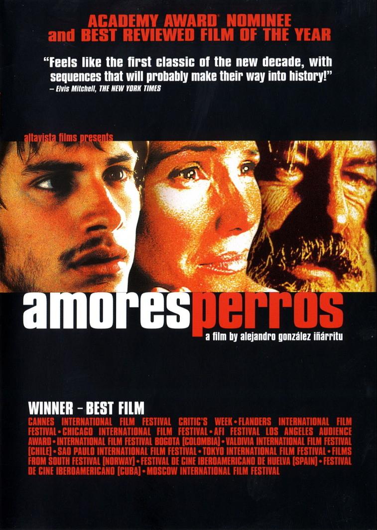 Amores Perros (poster) - cine mexicano