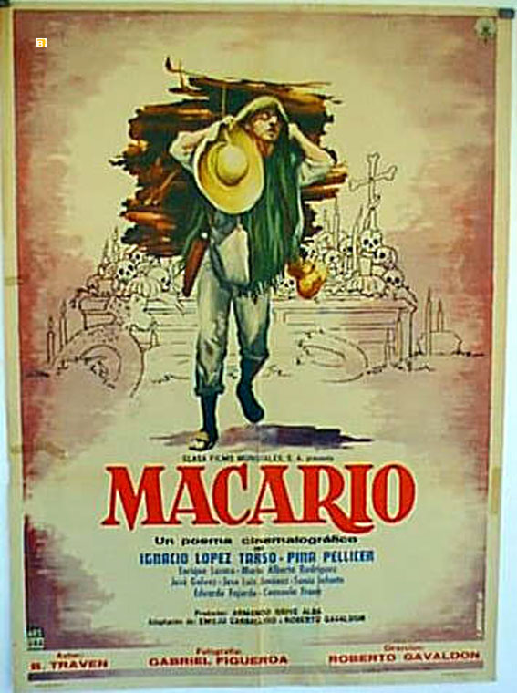 Macario (poster) - cine mexicano