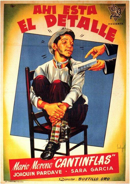 Ahí está el detalle (poster) - cine mexicano