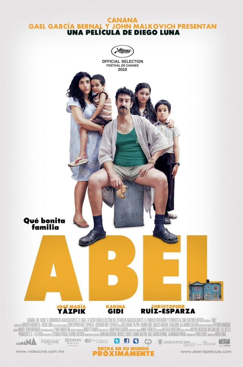Abel (poster) - cine mexicano